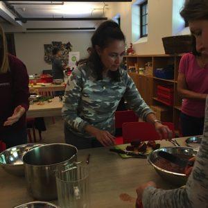 PIFS Pre-K teacher Diane Gordon participates in Stone Barns program